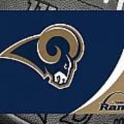 St Louis Rams Poster