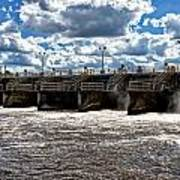 St Lucie Lock And Dam 2 Poster by Dan Dennison