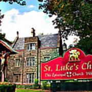 St Lukes Church Poster