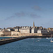 St Malo Poster