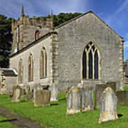 St Margaret's Church - Wetton Poster