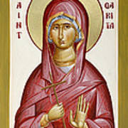 St Margarita Poster by Julia Bridget Hayes