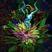 St. Mary Of The Lotus Sta. Maria De El Loto Poster