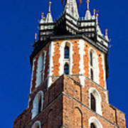 St. Mary's Church Tower Poster
