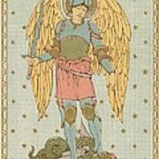 St Michael And All Angels By English School Poster