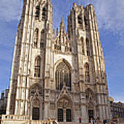 St Michael And St Gudula Cathedral Poster