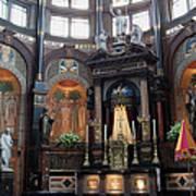 St Nicholas Church Interior In Amsterdam Poster