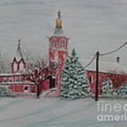 St. Nicholas Church Roebling New Jersey Poster