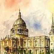 St Paul Cathedral Poster