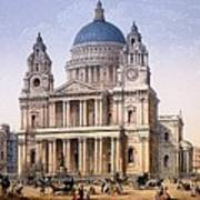 St Pauls Cathedral Poster