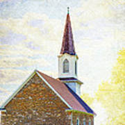 St Paul's Lutheran Church Poster