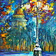 St. Petersburg New Poster by Leonid Afremov