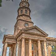 St. Philip's Episcopal Church In Charleston Poster