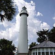 St. Simon's Island Georgia Lighthouse Poster