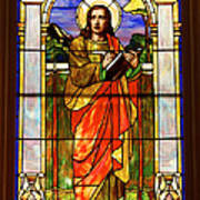 St. Stan's Stained Glass Poster