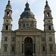 St Stephens Basilica Budapest Poster