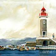 St. Tropez Lighthouse France Poster