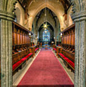 St Twrog Church Poster