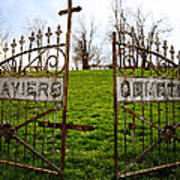 St. Xaviers Cemetery Poster