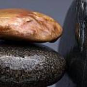 Stacked Stones 3 Poster by Steve Gadomski