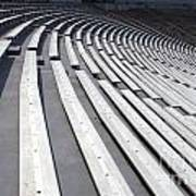 Stadium Bleachers Poster