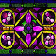 Stained Glass 3 Poster