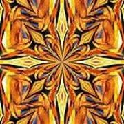 Stained Glass Abstract Poster