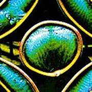 Stained Glass Eye Poster by Rebecca Flaig