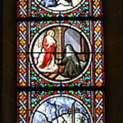 Stained Glass Window Iv Poster