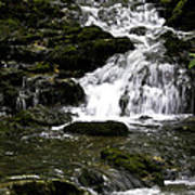 Stair Step Falls Five Poster
