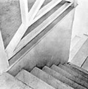 Staircase, Mexico City, C.1924 Poster
