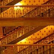 Stairs At The Brown Palace Poster