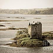 Stalker Castle Vintage Poster