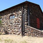 Stallion Barn At Historic Jack London Ranch In Glen Ellen Sonoma California 5d24580 Poster by Wingsdomain Art and Photography