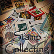 Stamp Colleting Poster