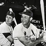 Stan Musial And Ted Williams Poster