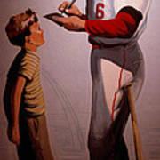 Stan Musial Mural Poster