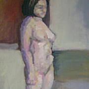 Standing Figure Poster