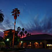 Stanford University Quad Sunset Poster