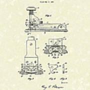 Stapler 1932 Patent Art Poster