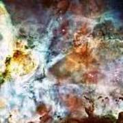Star Birth In The Carina Nebula  Poster