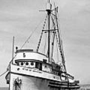Star Of Monterey In Monterey Harbor Circa 1948 Poster