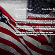 Star Spangled Banner  Poster by Ella Kaye Dickey