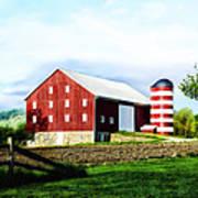 Star Spangled Farm Poster