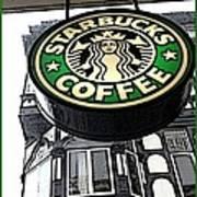 Starbucks Logo Poster