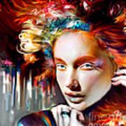 Stargirl I Bleed Color Poster