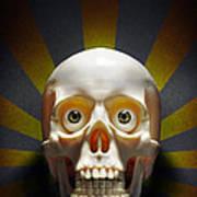 Staring Skull Poster