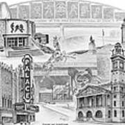 Stark County Ohio Print - Canton Lives Poster by Kelli Swan