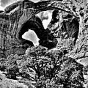 Stark Double Arch Poster