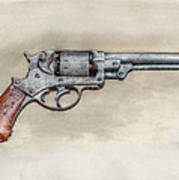 Starr Civil War Era Pistol Poster